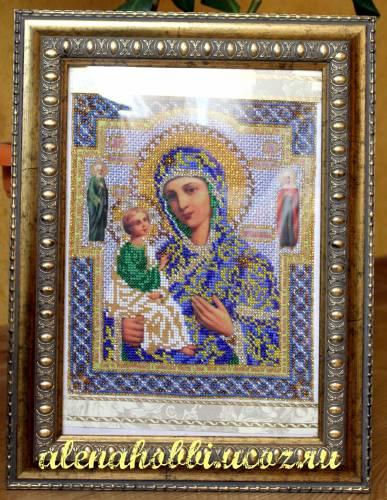 богородица иерусалимская вышивка бисером - О том, как плести бисером.